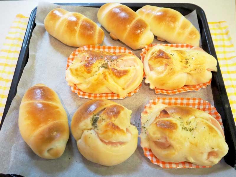 ハムロール&ロールパン